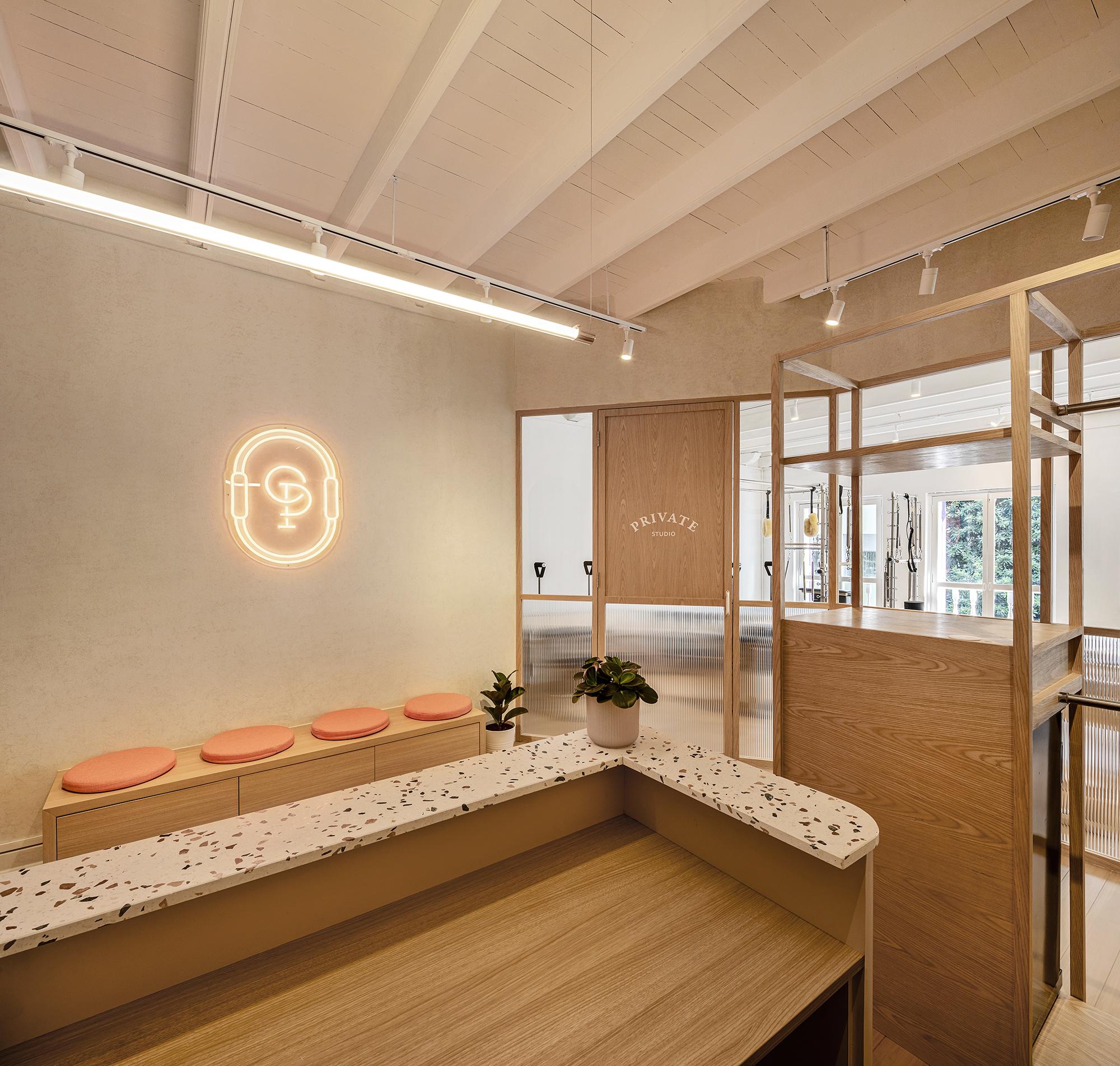 Shan Wong Interior Design - Off Duty Pilate Studio